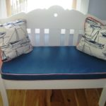 Bench Cushion & Toss Pillows (1)