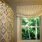 Relaxed Mock Roman Valance with Trim (1)