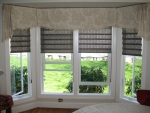 Scallopped Box Pleat Valance
