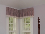 Pinch Pleat Valance with Banding