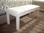 Custom Bedding & Bench