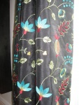 Faux Silk Embroidered Fabric