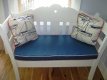 Bench Cushion & Toss Pillows