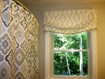 Relaxed Mock Roman Valance with Trim